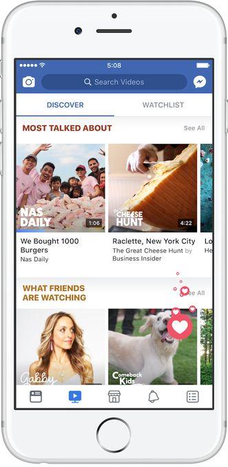 Serier og videoer blir kategorisert etter sjangre, men også etter hva vennene dine ser på.