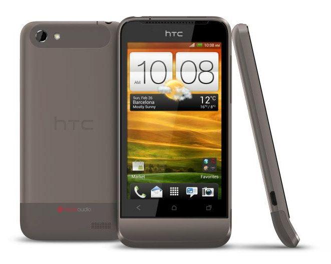 HTC One V.