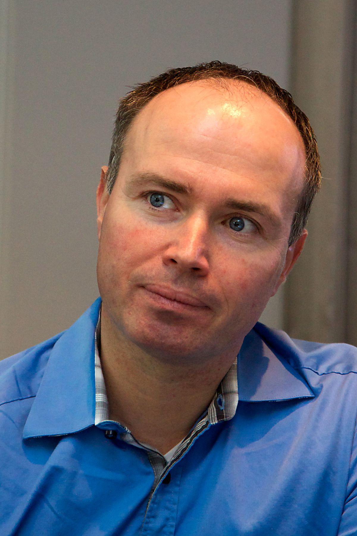 Sikkerhetsekspert Christian Sandberg i Check Point. (Foto: Kurt Lekanger)