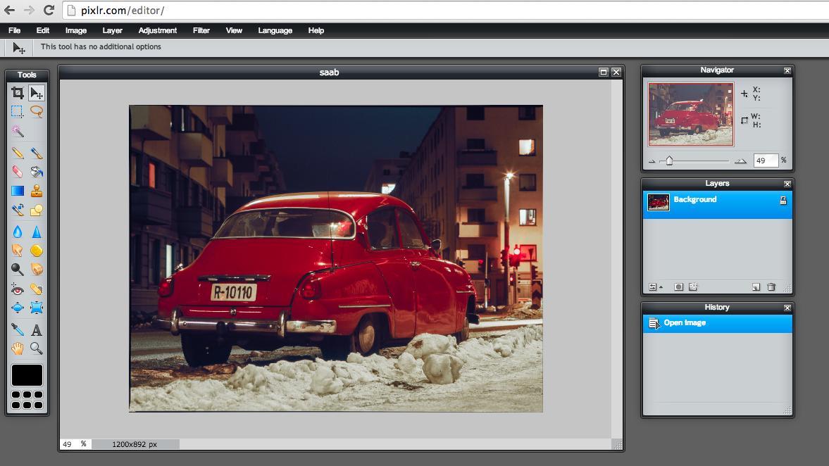 Pixlr edito