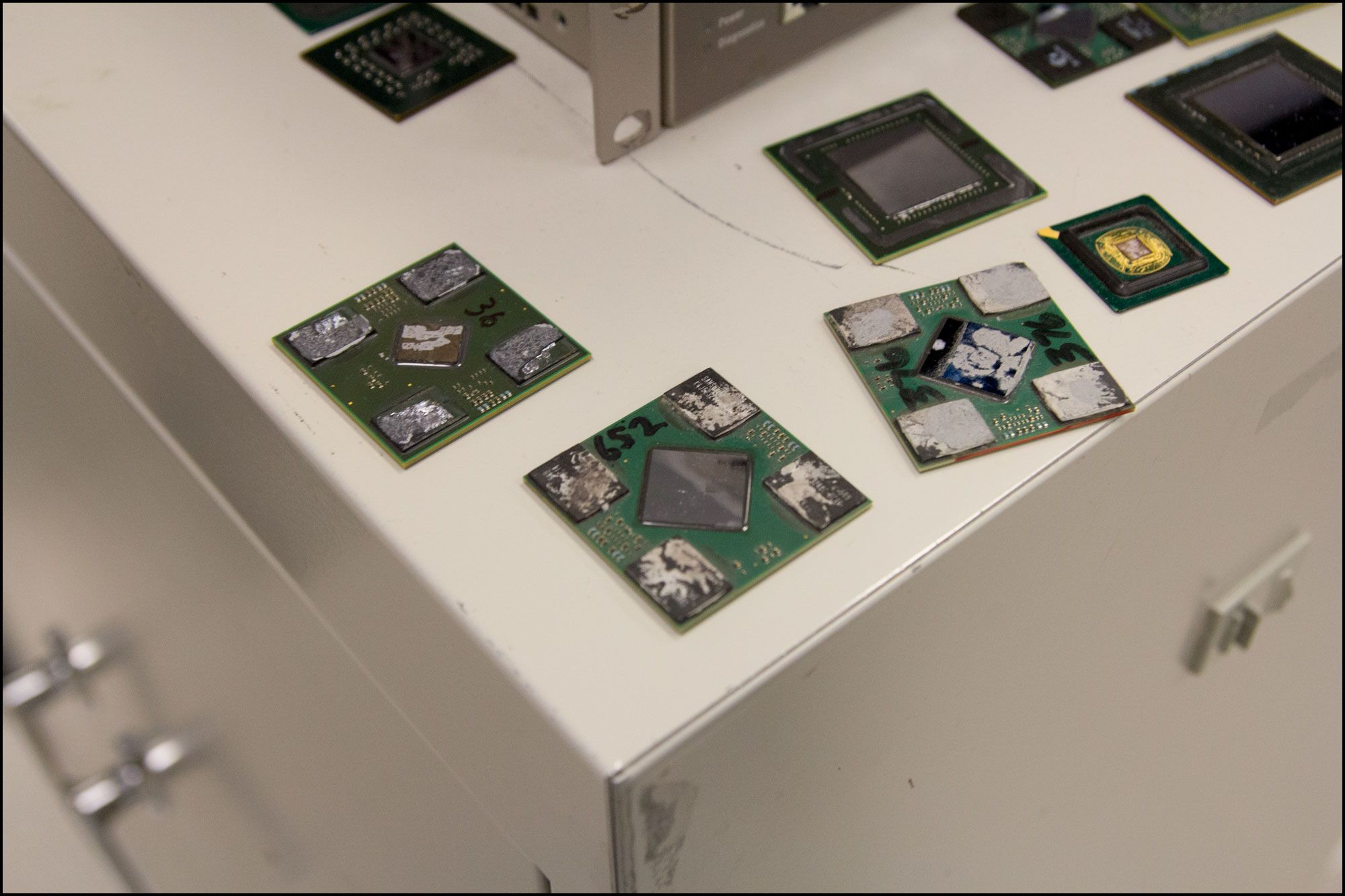 Prosessoren som sitter i en Playstation 3