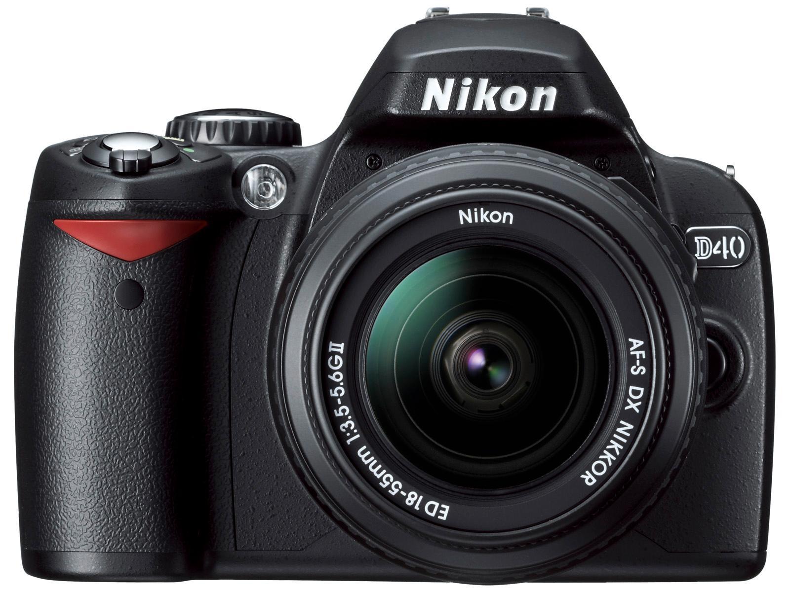 Nikon D40, markedets billigste speilreflekskamera