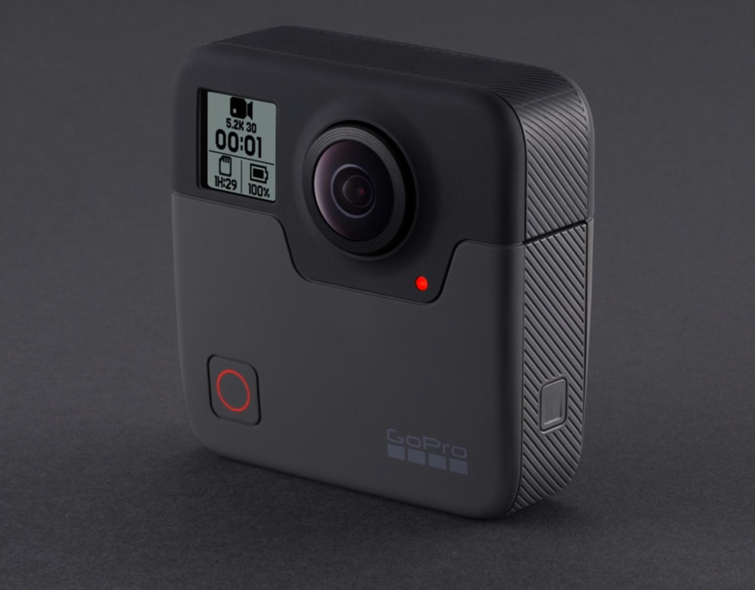 GoPro Fusion.