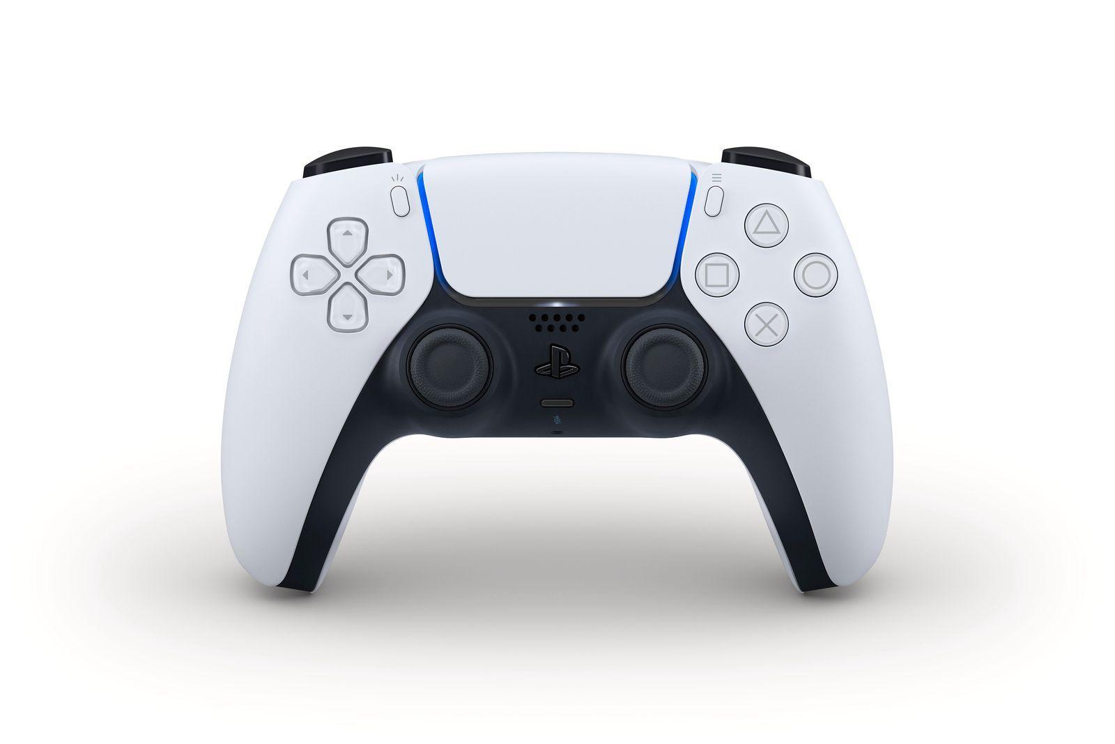 Slik ser PlayStation 5-kontrollen ut.