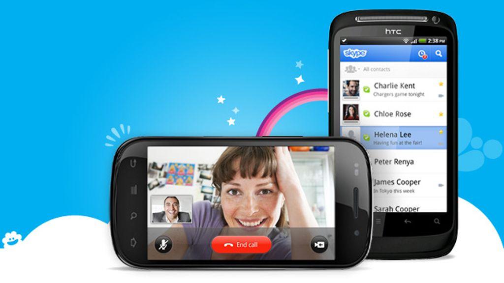 Skype får videosamtale på Android