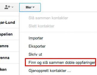 Det er lett å bli kvitt dobbeltoppføringer i Google-kontaktene dine.