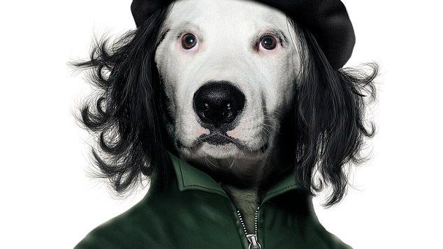 Nektes å selge berømt bilde i hundeversjon