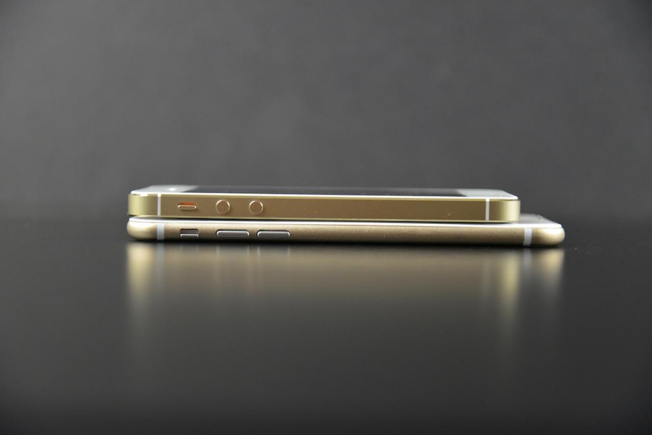 iPhone 6 ser ut til å bli en god del slankere enn iPhone 5S