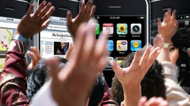 Salgsboom av ulåst Iphone