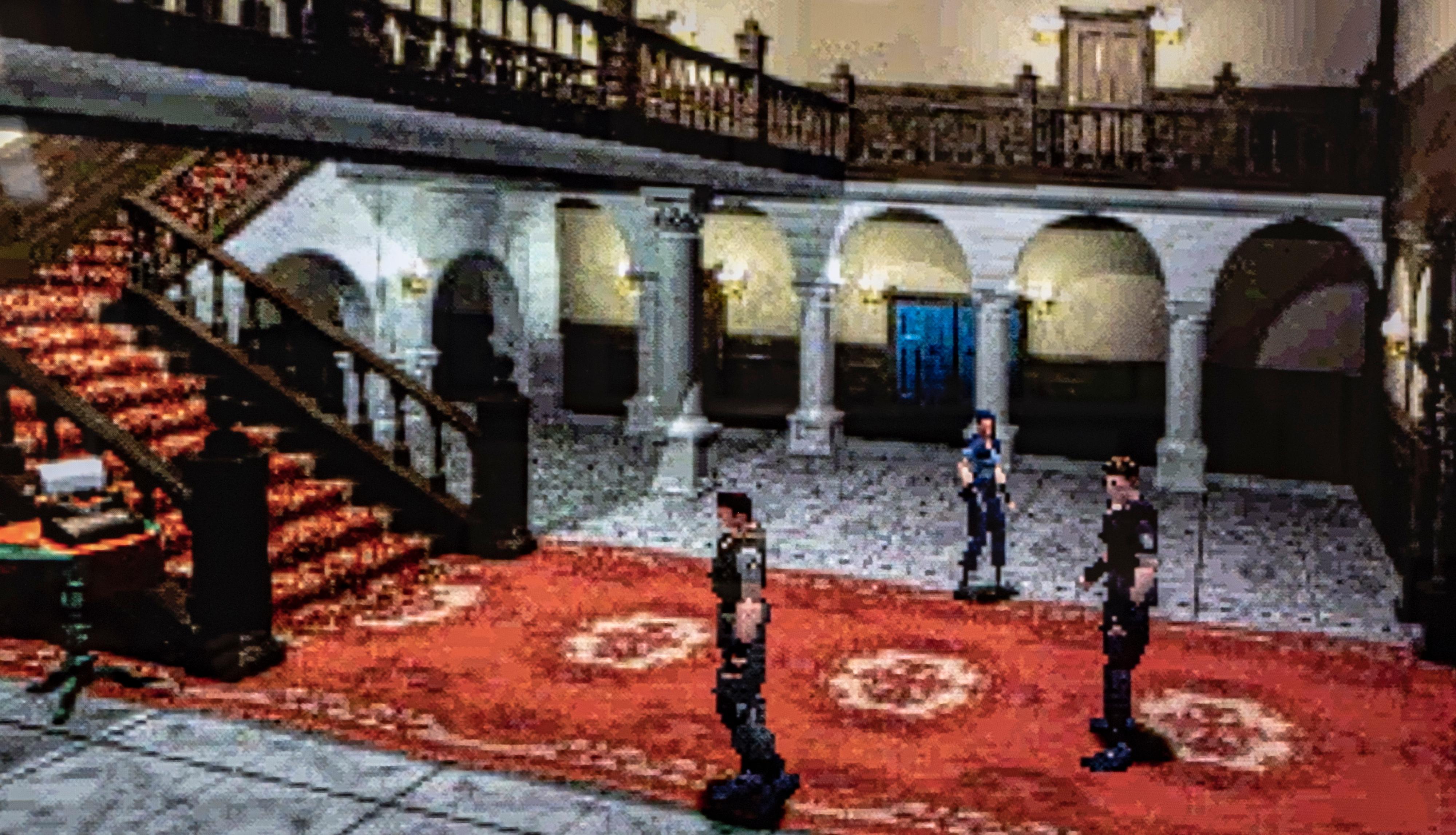 Jeg synes å huske at Resident Evil en gang var småskummelt. Jeg begriper ikke hva som gikk av fjorten år gamle meg. Her fra åpningssekvensen i spillet.