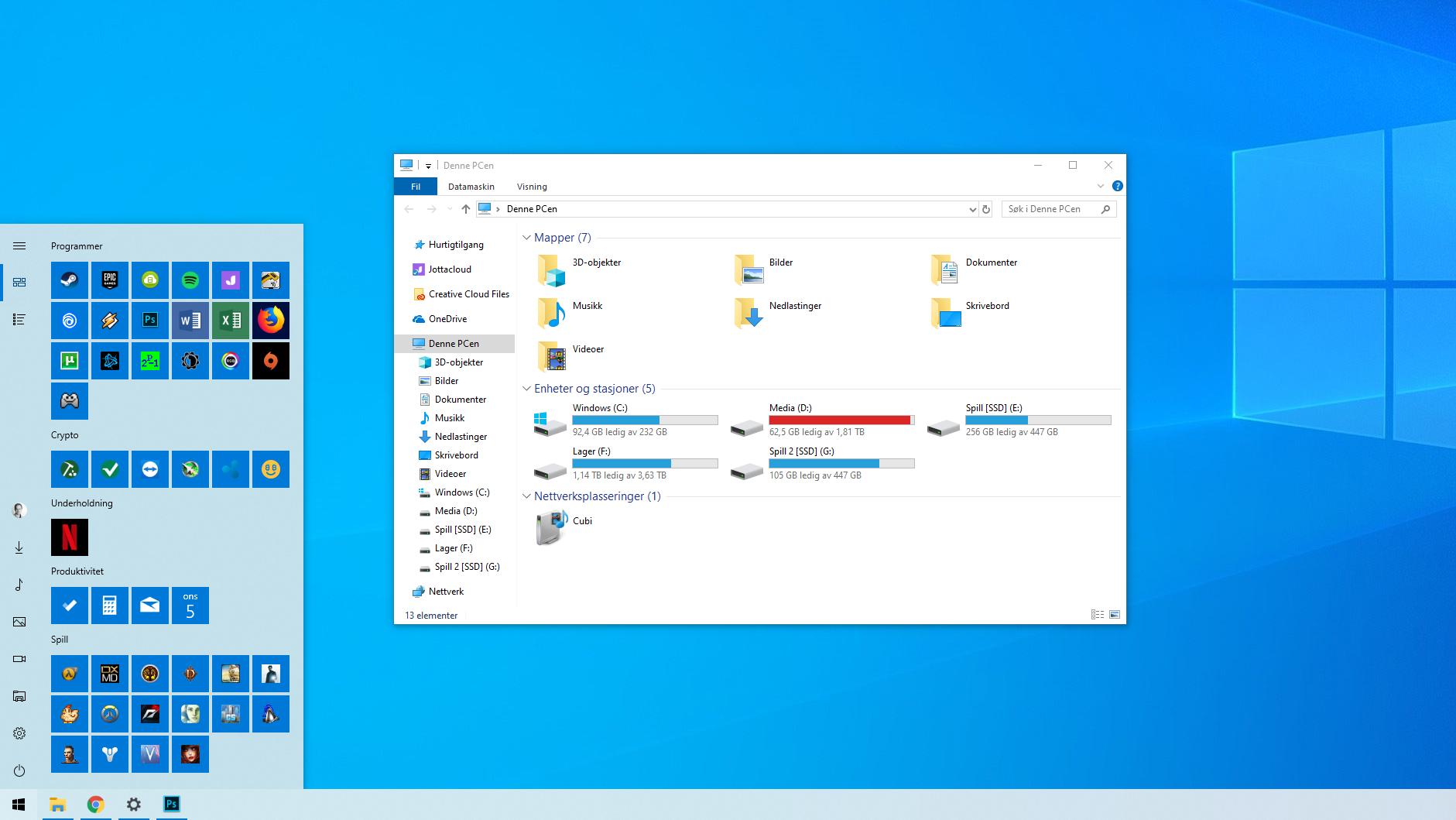 Sette opp Windows 10 Guide Tek.no