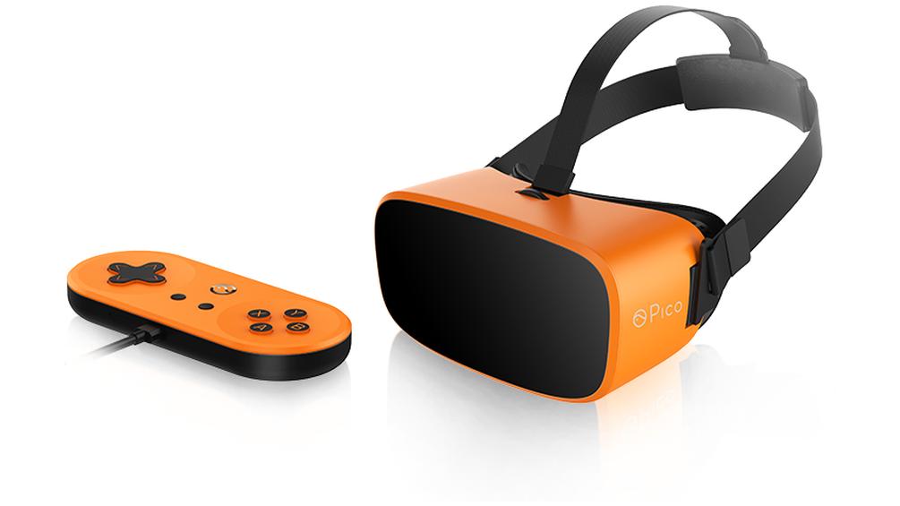 Dette uvanlige VR-hodesettet har puttet prosessoren i håndkontrolleren