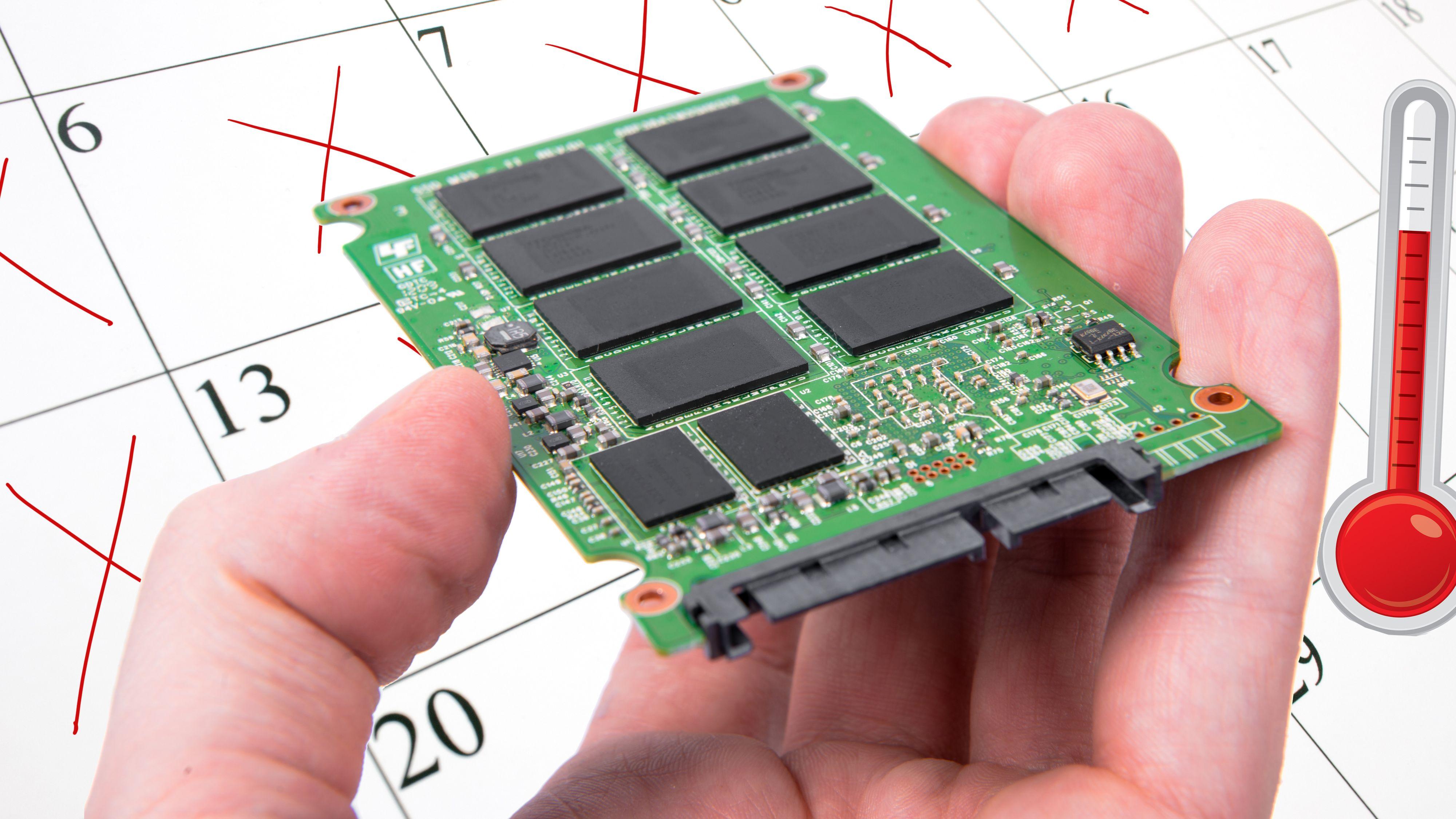 SSD-er kan miste data etter bare én uke