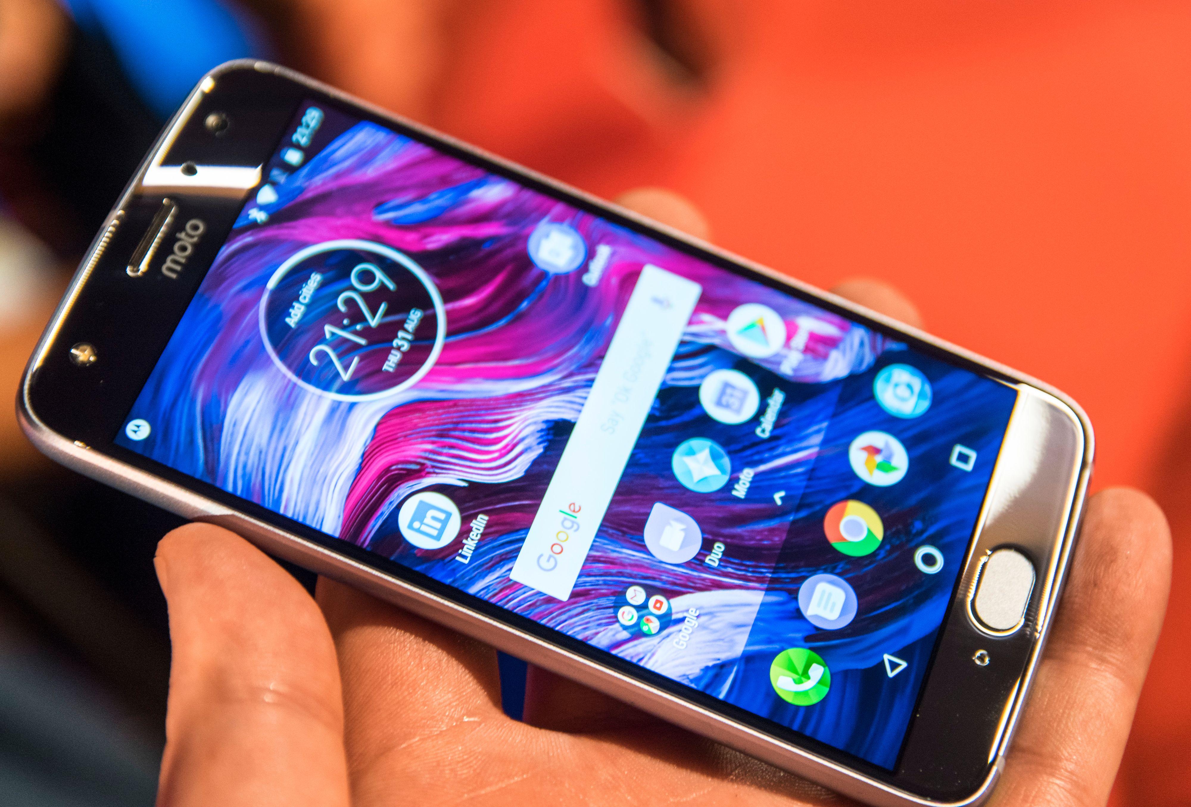 Foruten et par Motorola-spesifikke apper kjører Moto X4 omtrent ren Android. Enkelte av appene har imidlertid litt uvanlige ikoner, men det er også det hele.