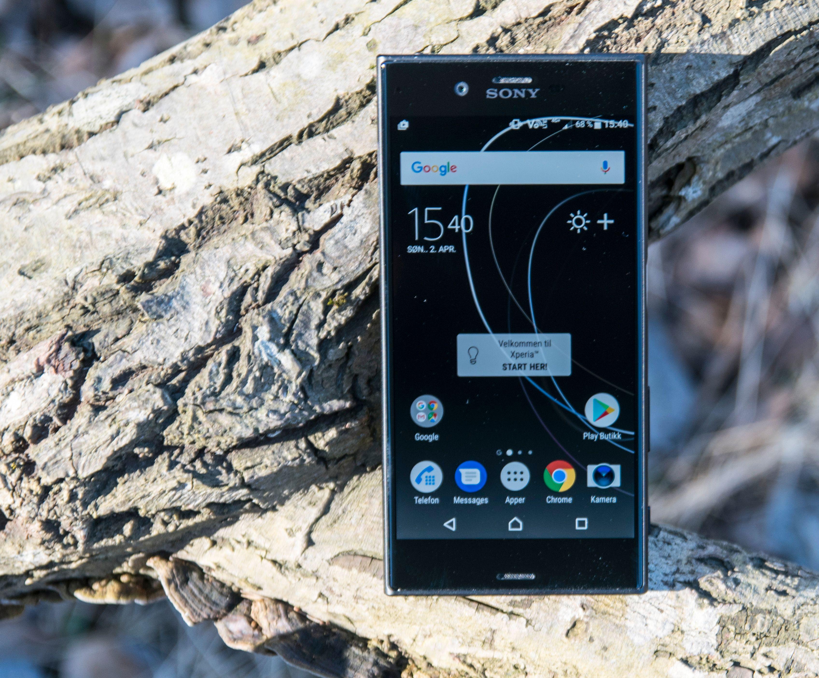 Brukeropplevelsen i Sonys litt påkostede mobiler er som regel rask og god. XZs er intet unntak. Den er dessuten ørlite grann mer fremtidssikker enn forgjengeren, med en gigabyte mer RAM. Bilde: Finn Jarle Kvalheim, Tek.no