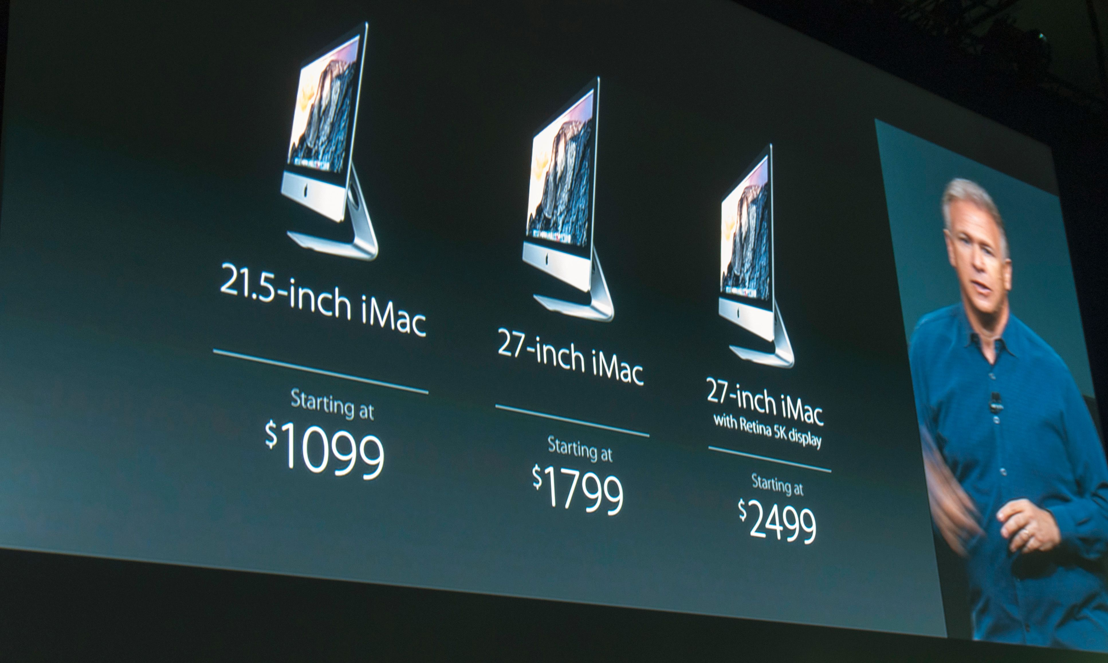 iMac med priser.