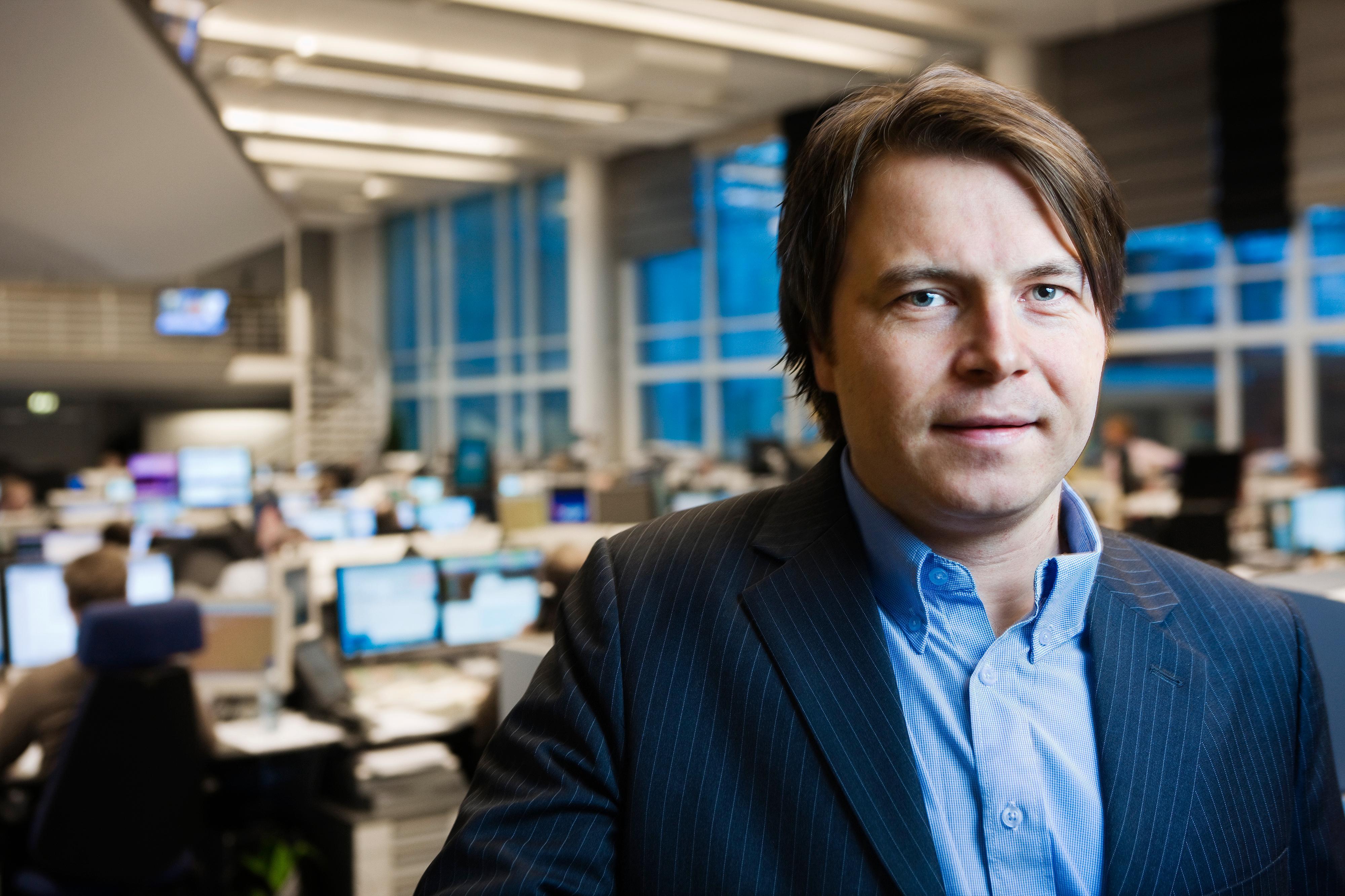 Vidar Korsberg Dalsbø er kommunikasjonsrådgiver i DNB.