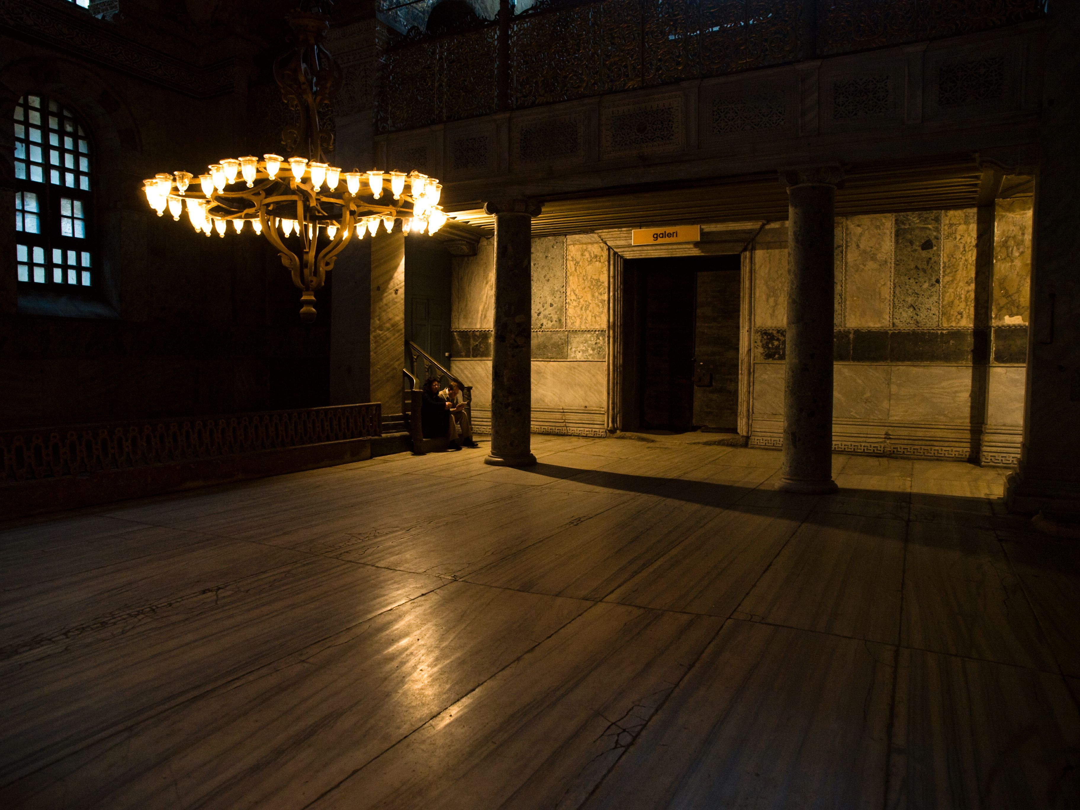 Inne i Hagia Sofia, 800 ISO