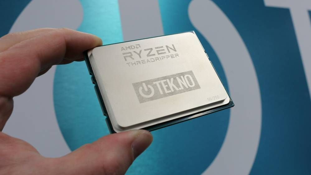 AMDs Ryzen Threadripper kommer med inntil 16 (!) kjerner.