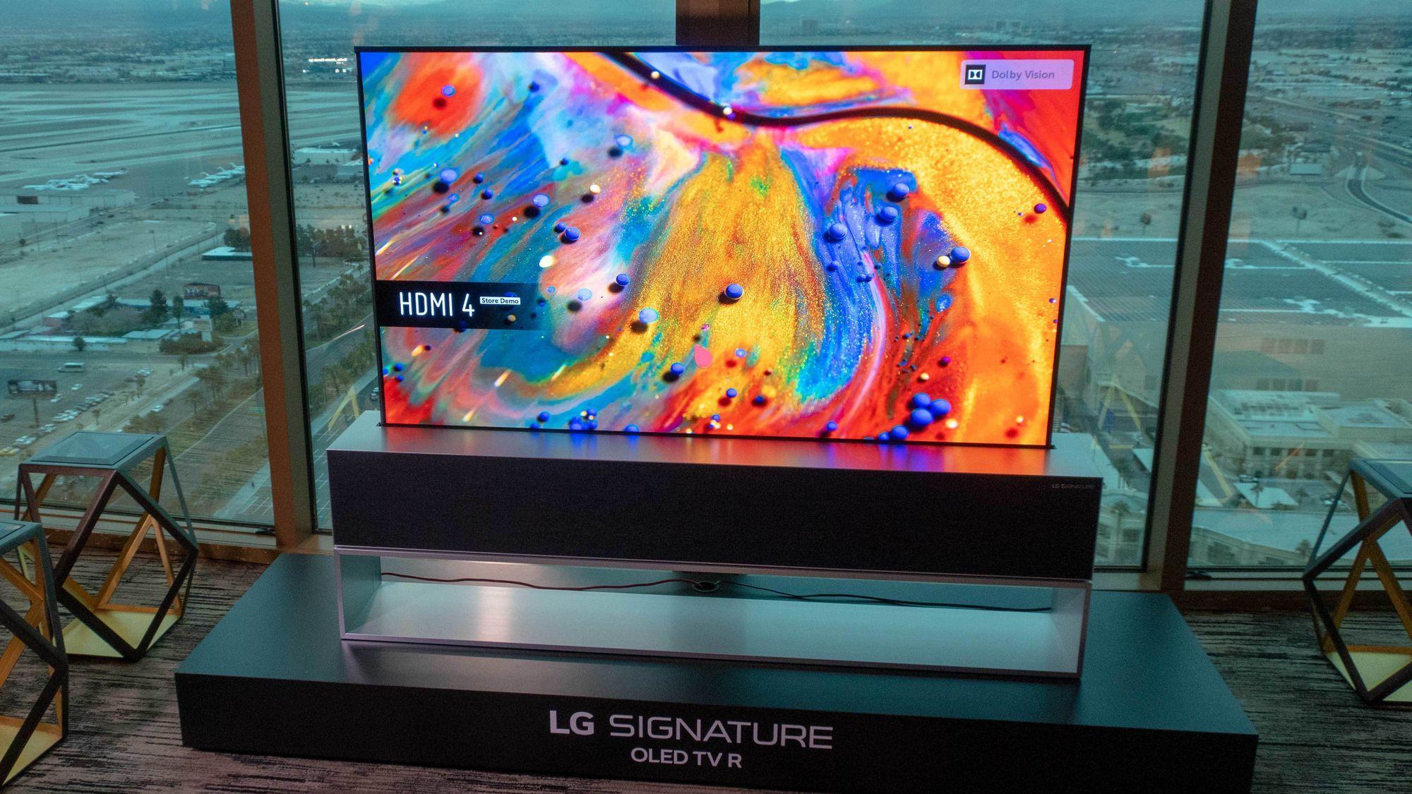 Nå er LGs rulle-TV i salg