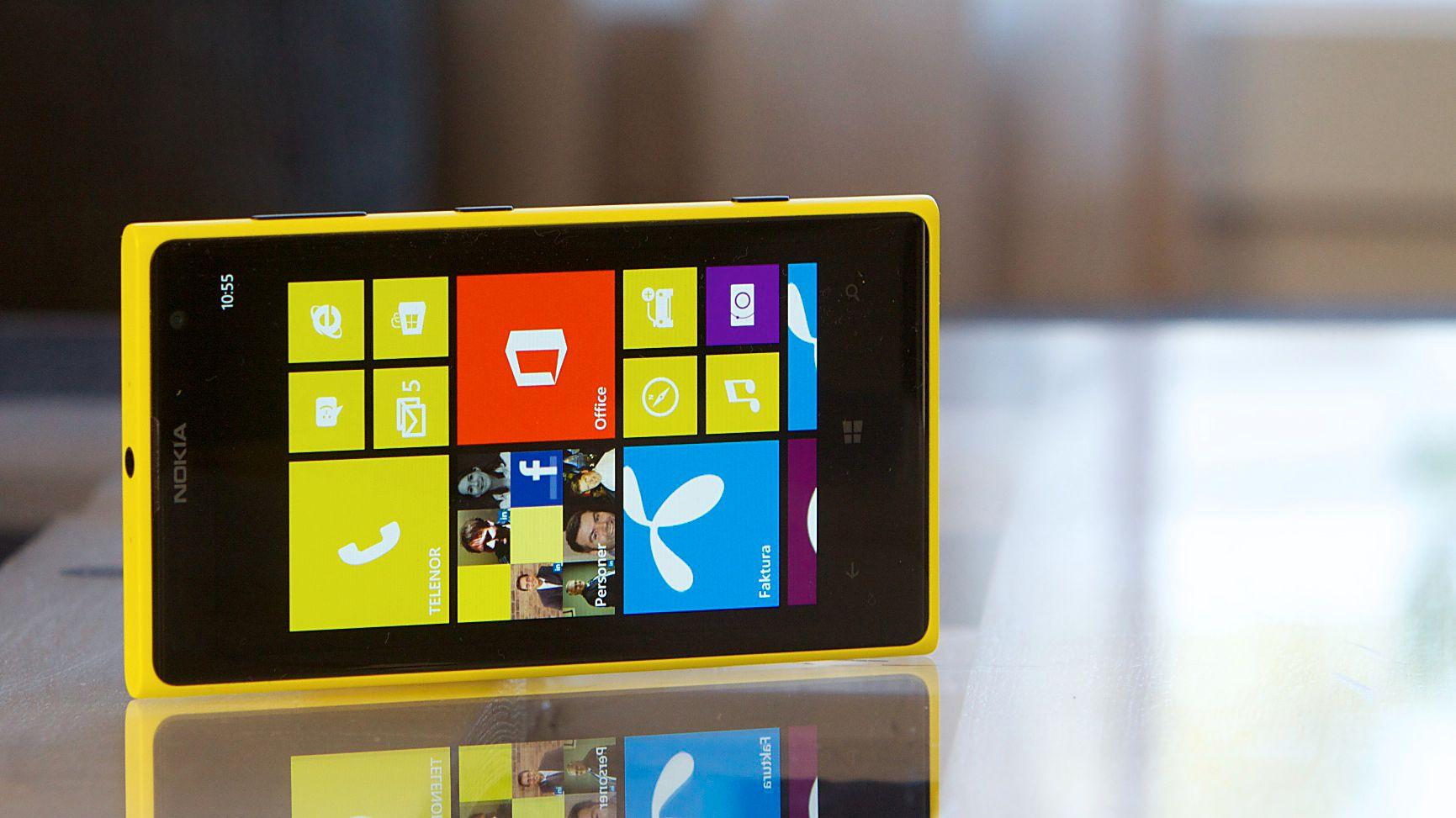 Nokia Lumia 1020. Foto: Kurt Lekanger, Amobil.no