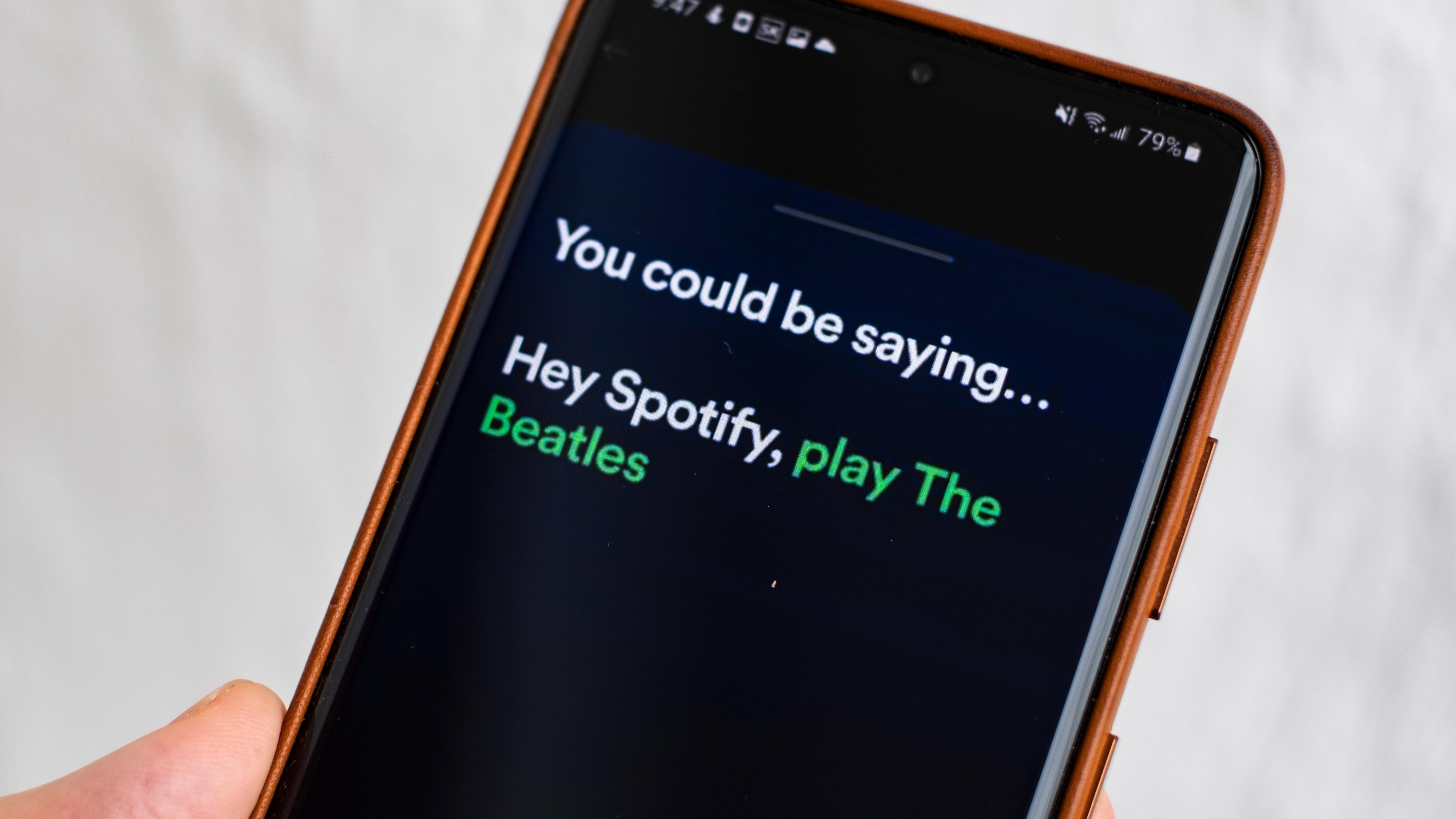 Spotify prøver ut talestyring