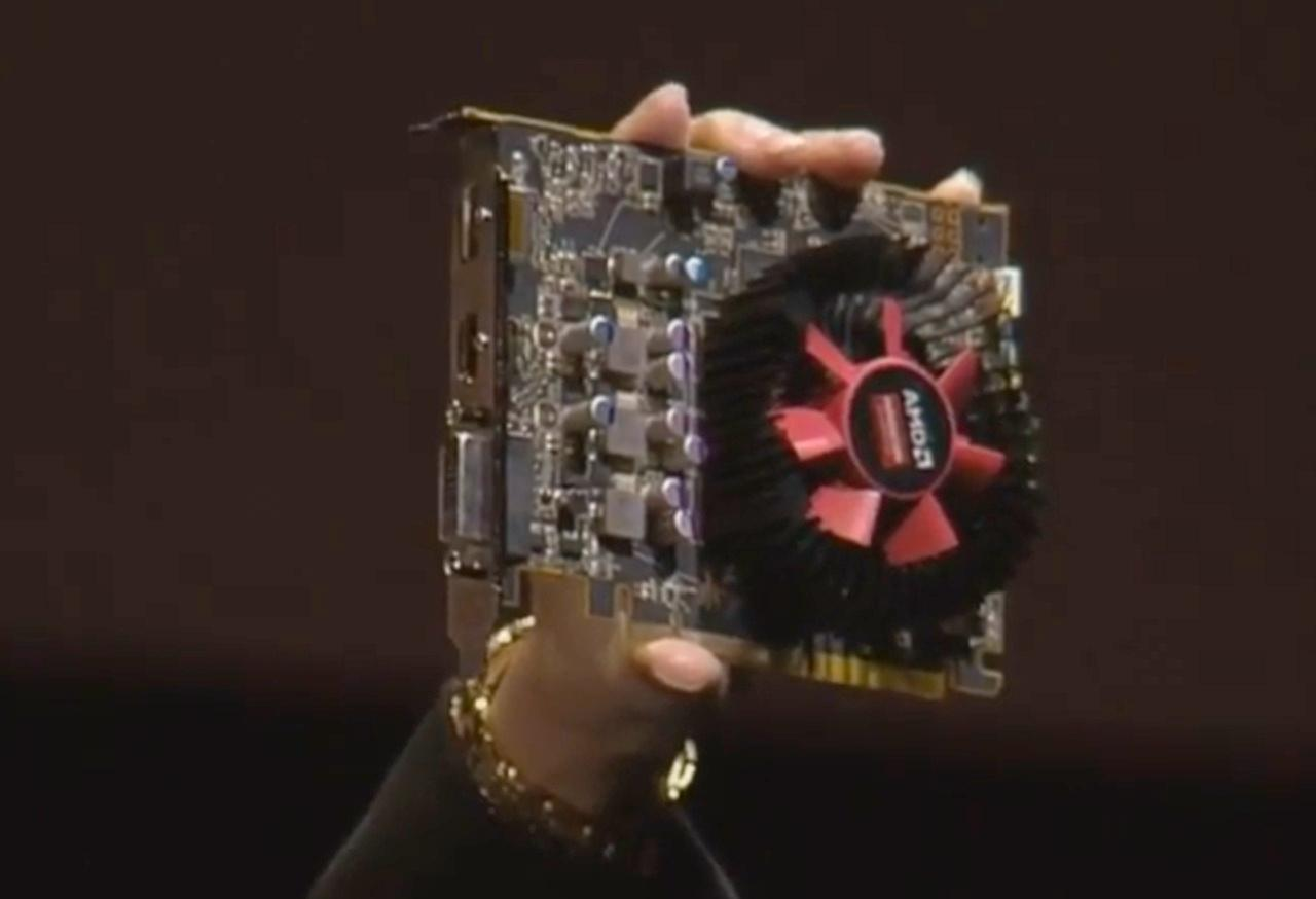 Radeon RX 460.