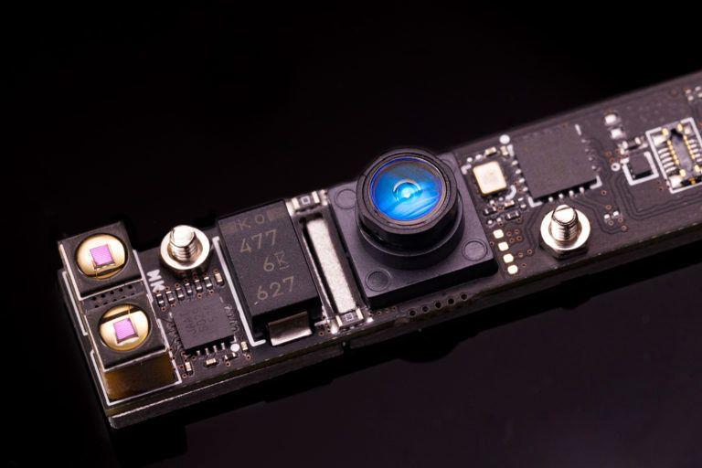 Slik ser den mobile VR-sensoren ut i sin nåværende form.