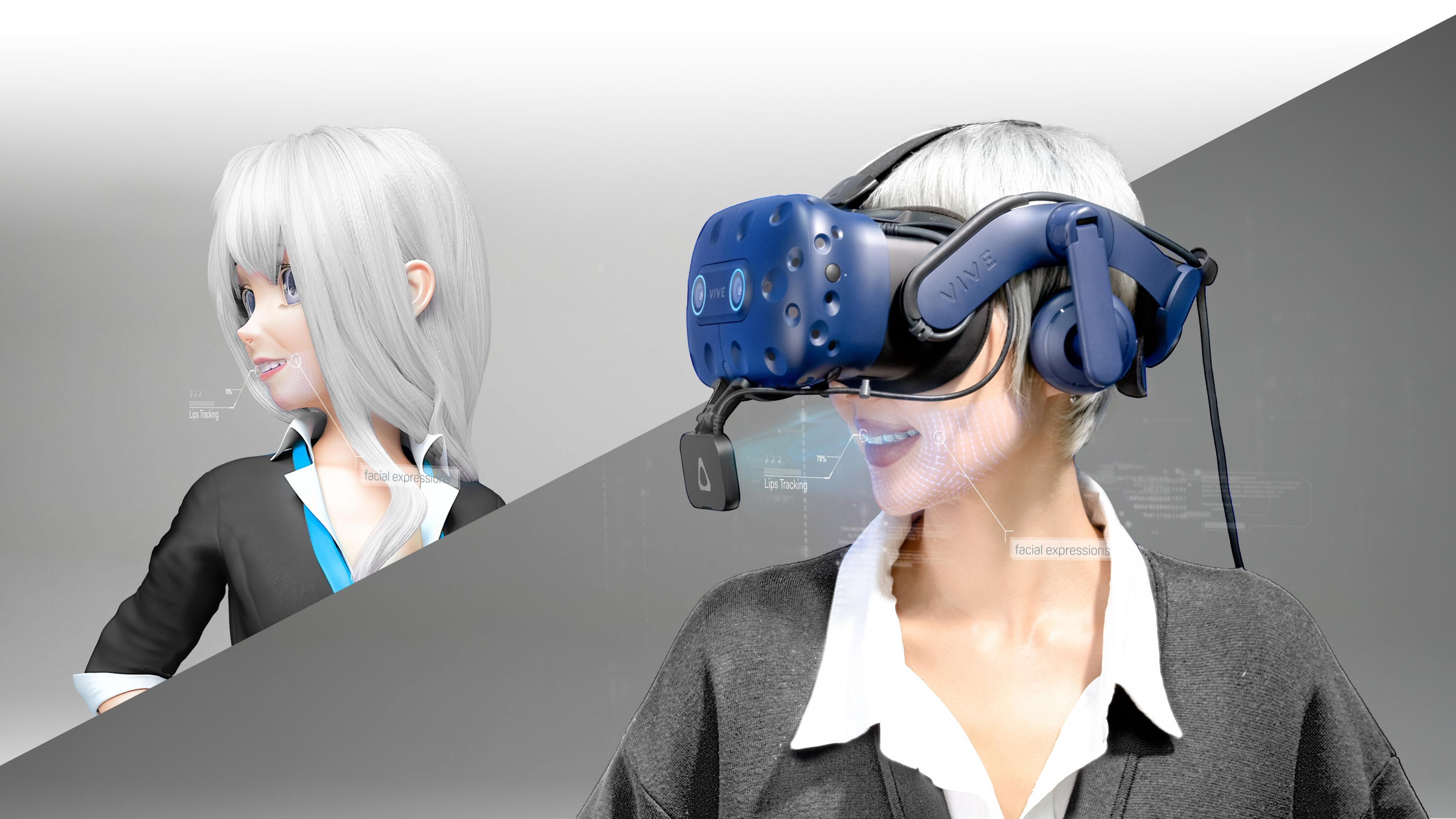 Ansiktssporing gir VR en ny dimensjon