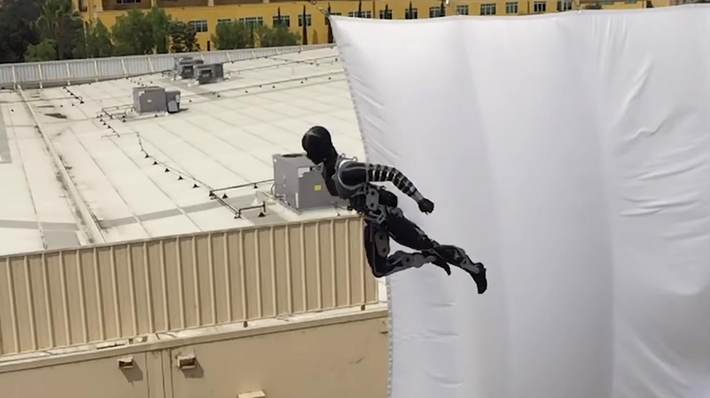 Disney jobber med å erstatte stuntmenn med roboter