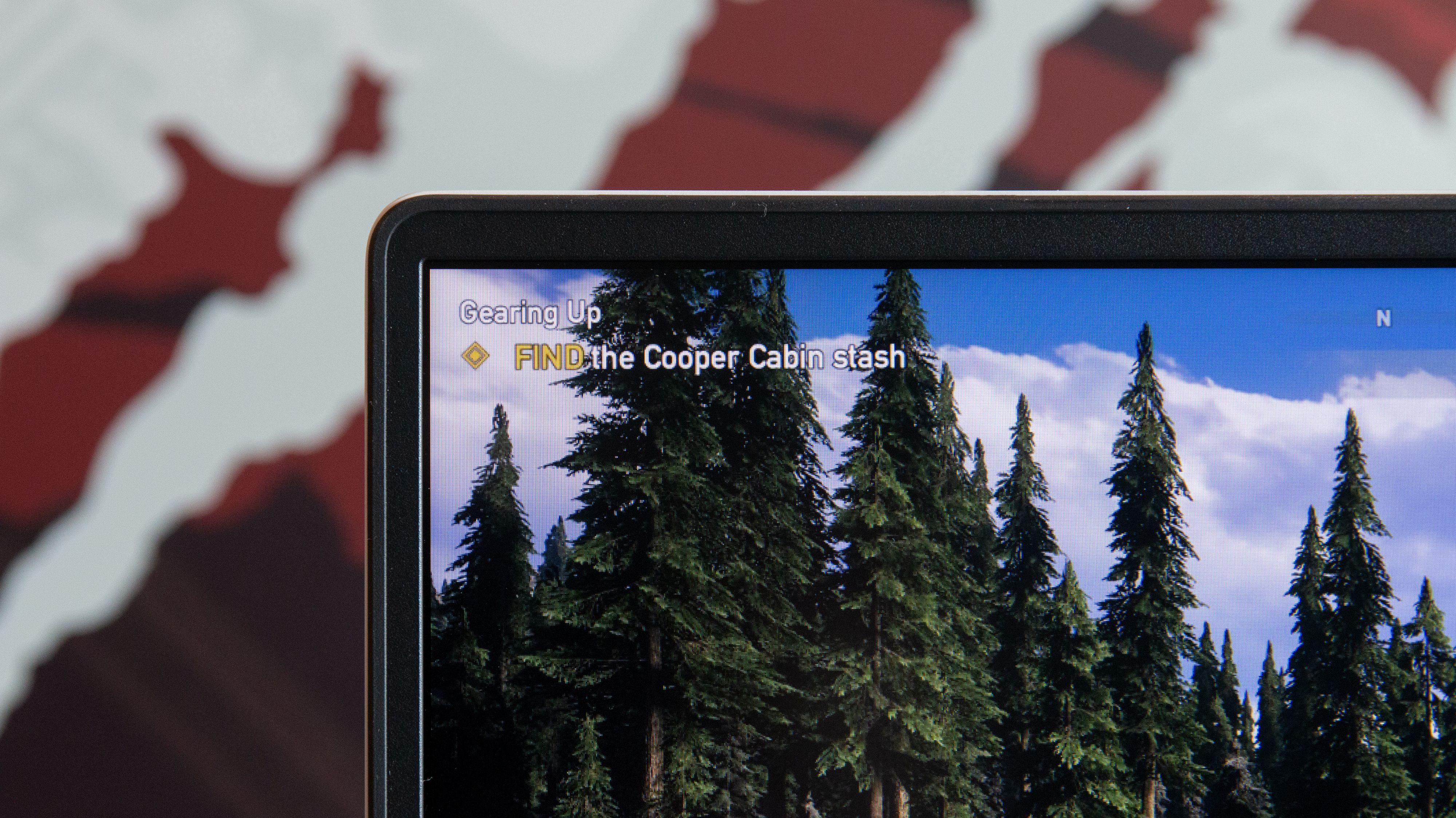 G14 har slanke skjermrammer rundt panelet.
