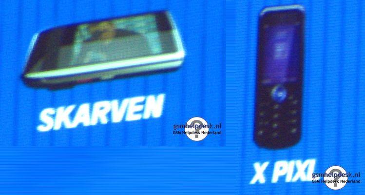 Skarven og X Pixl blir trolig Motorolas kameraflaggskip i 2008. Klikk for større bilder.