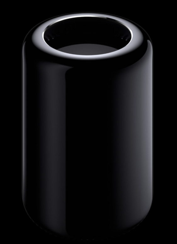 Slik ser den umodifiserte Mac Pro ut.Foto: Apple
