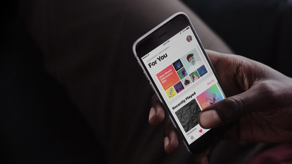 Apple Music vokser kraftig