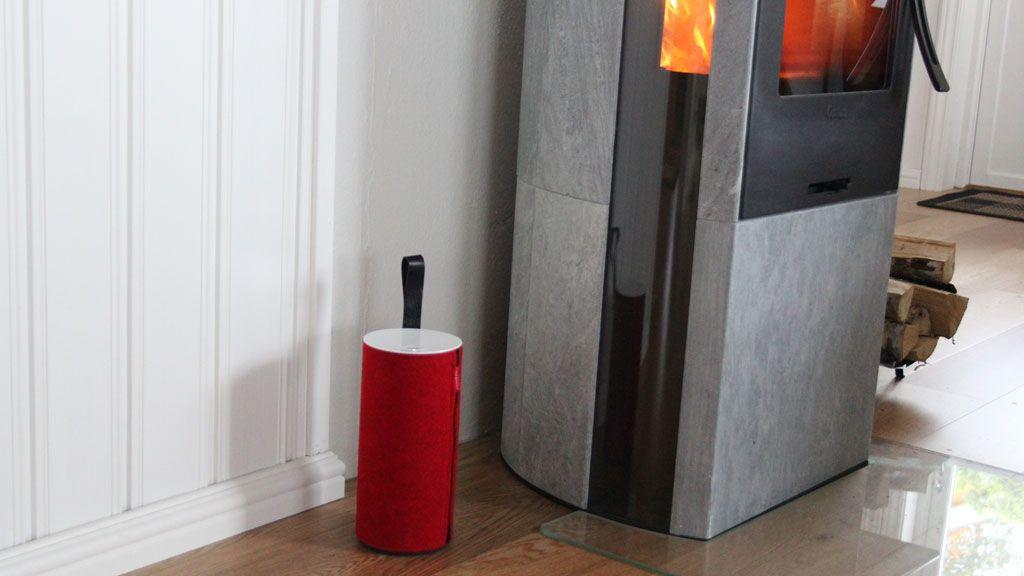 Fra denne plassen fyller Libratone Zipp en stue på ca 50 kvm med lyd.Foto: Espen Irwing Swang, Amobil.no