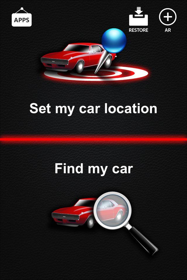 Find my car.