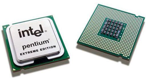 Pentium 4 Extreme Editon 965  - Overklokking