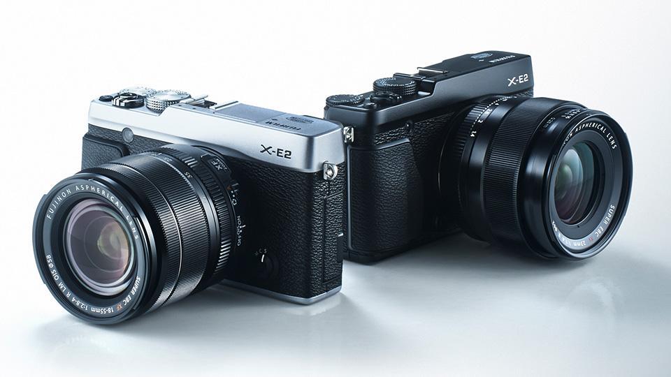 Ny generasjon: Fujifilm X-E2. Foto: Fujifilm