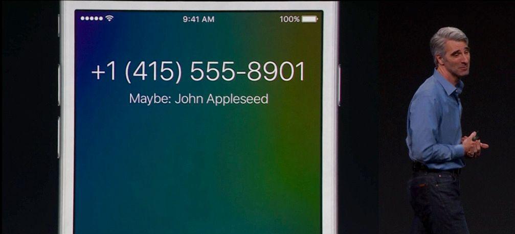 Har du ikke nummeret til den som ringer deg? iOS leter gjennom epostene dine og gjetter hvem det kan være.