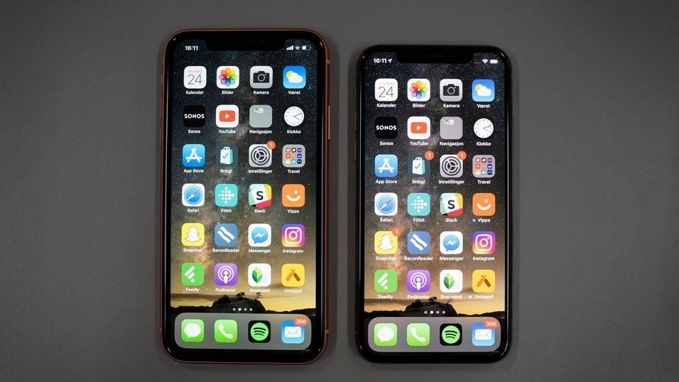 Fjorårets nye iPhone-modeller bidro sannsynligvis sterkt til at snittprisen på telefonene vi kjøpte økte med rundt 500 kroner.