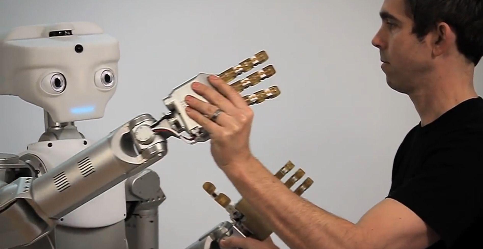Meka Robotics personlige robot.Foto: Meka Robotics