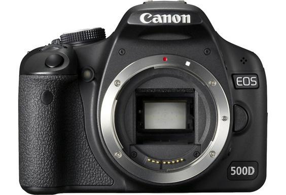 Canon Eos 500D; Mer kantete i formen.