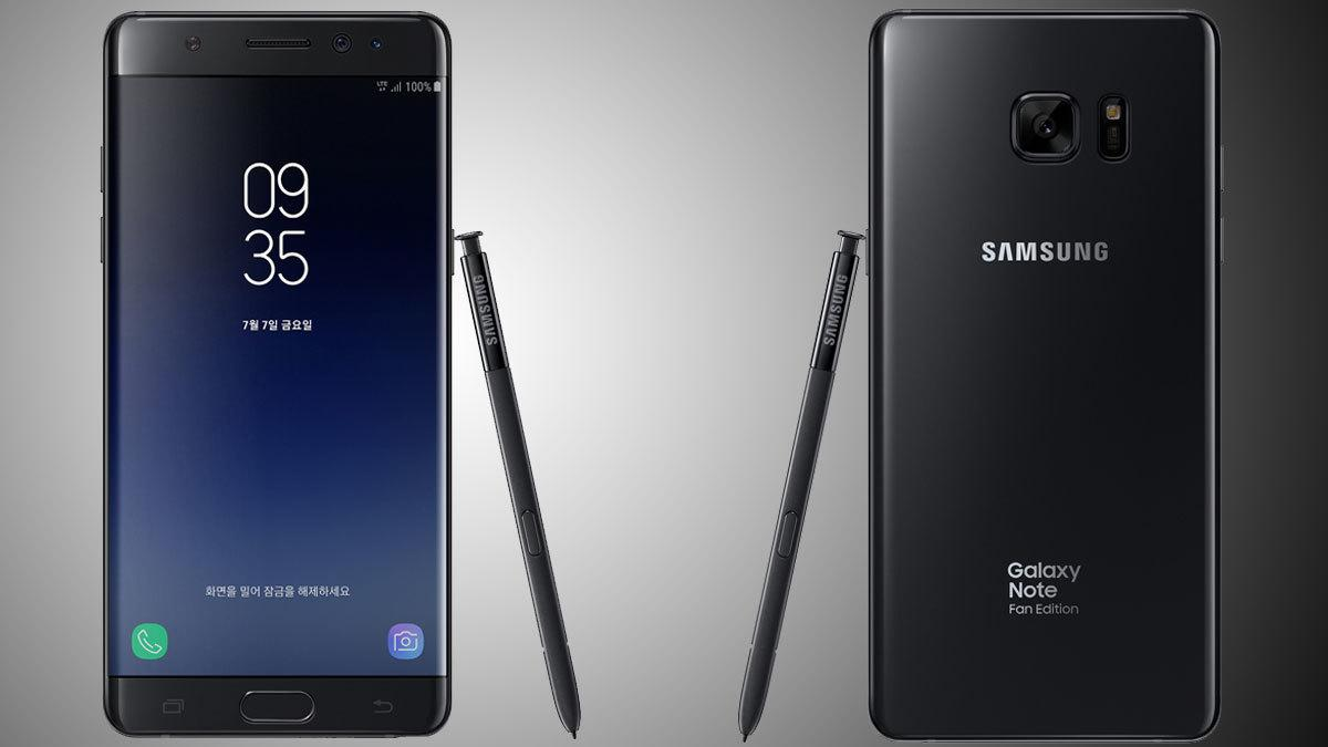 Her er «nye» Galaxy Note 7