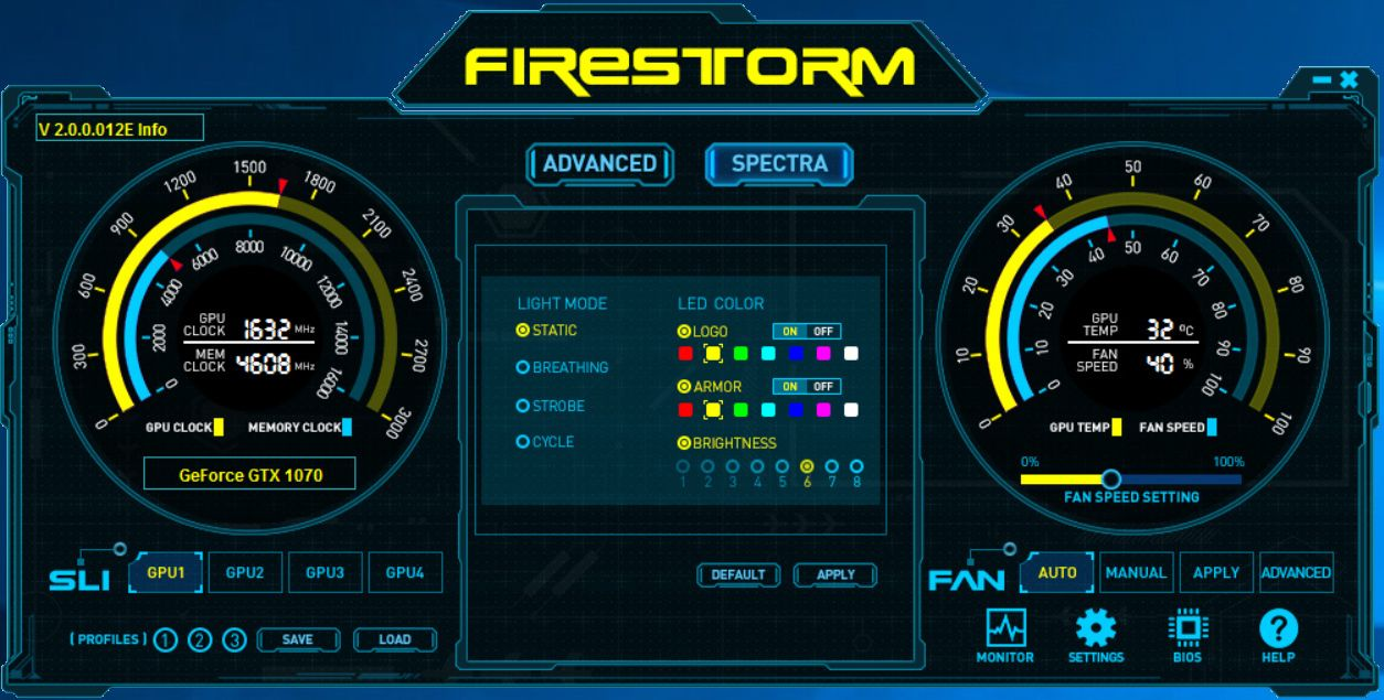 FireStorm Spectra.