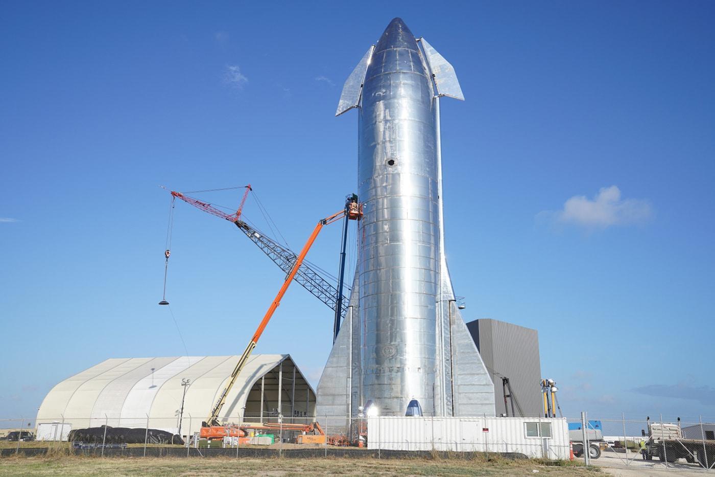 Slik så den første Starship-prototypen ut.