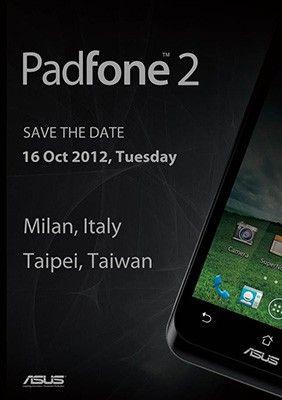 Asus PadFone 2 lanseres i Taipei og Milano om litt over en uke.