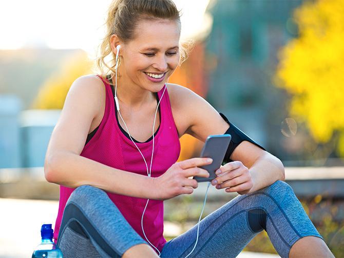 Vilken musik strömmar ur hörlurarna under ditt träningspass?