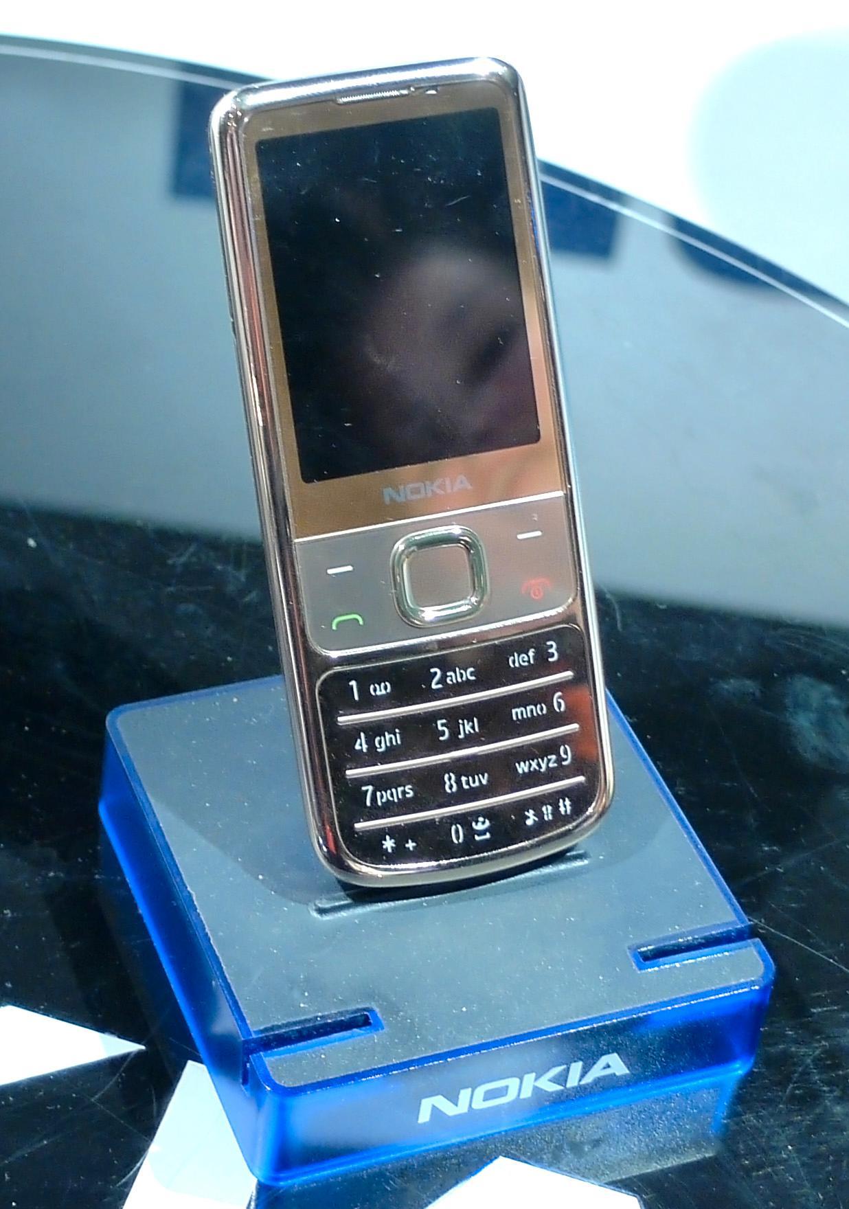Nokia viste frem 6700 Classic i Gold-utgave på årets Elektrofil-messe.