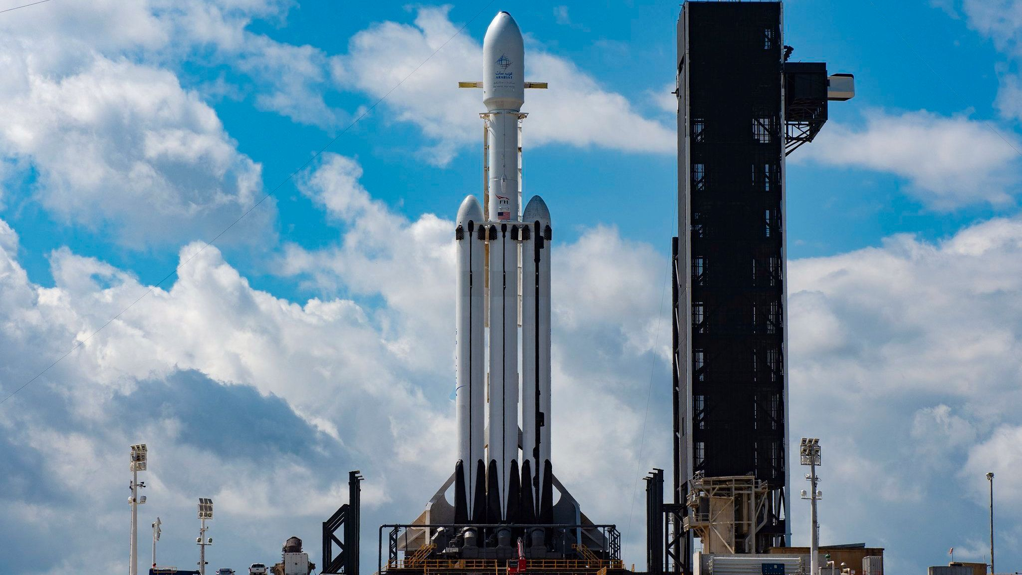 Snart skal Falcon Heavy fly for andre gang