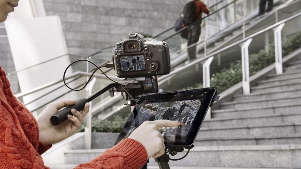Denne lar deg bruke iPaden som fjernkontroll til kameraet ditt